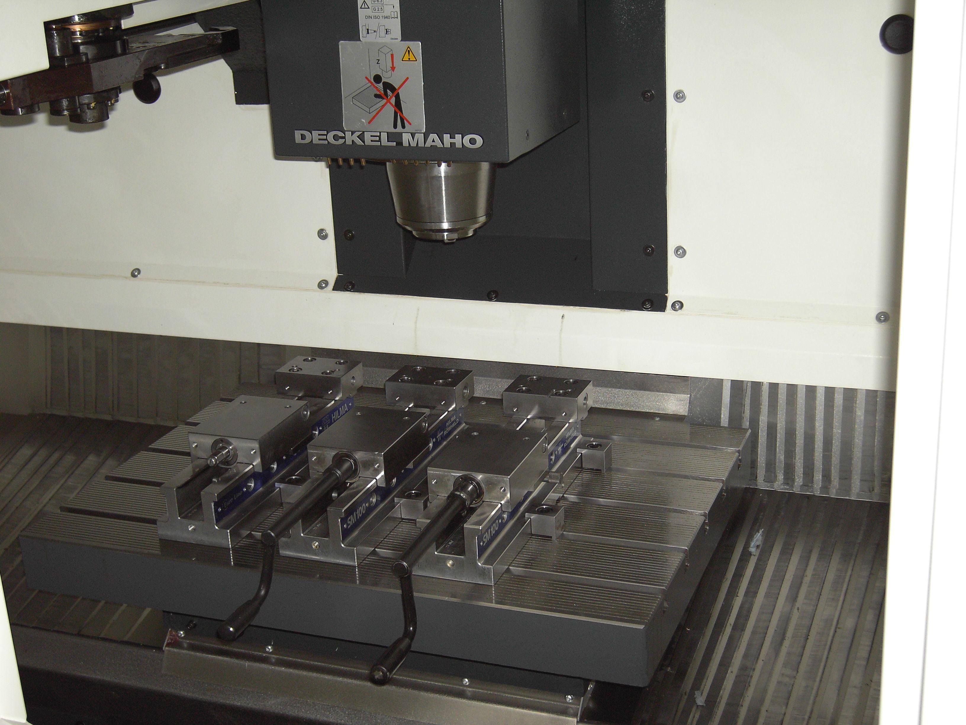 Maschinen prototypenbau d lle for Deckel drehmaschine